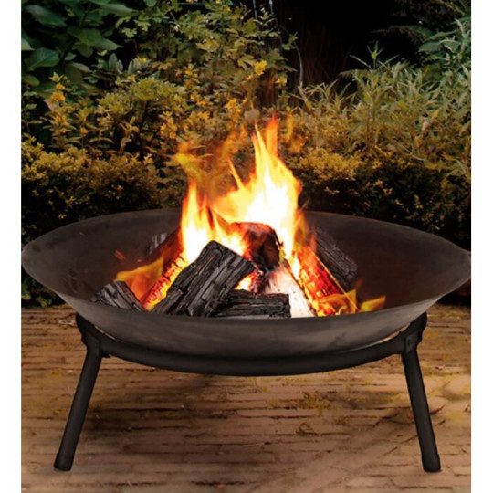 Cast Iron fire pit from Wayfair
