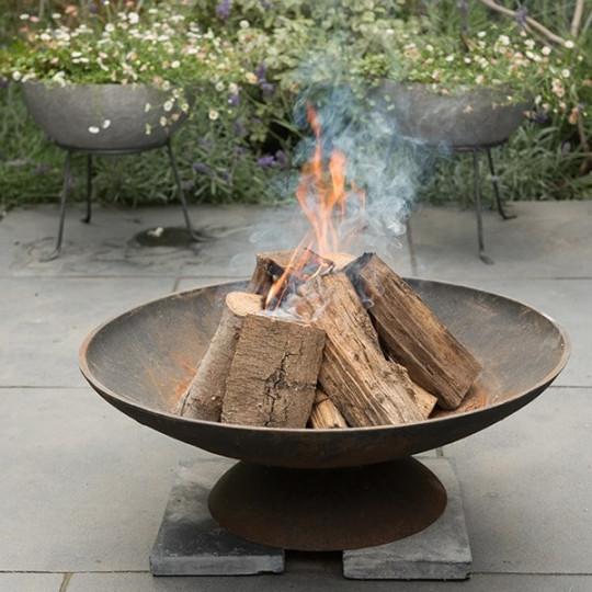 Waitrose cast iron fire pit