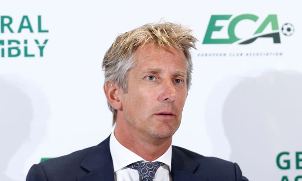 Edwin van der Sar chaired the meeting in the absence of the ECA president