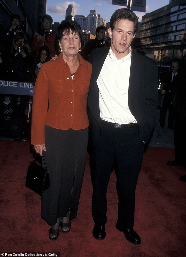 Happy memories: The duo at the premiere of Les Miserables in 1998 in New York