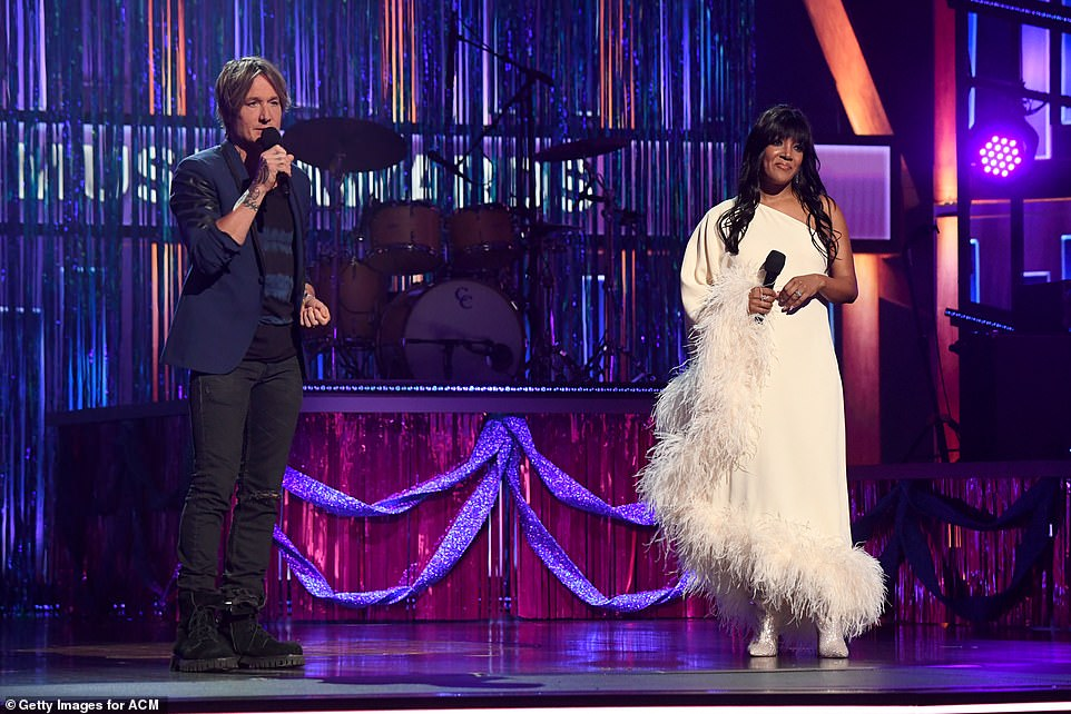 Star power: The long-running country music awards is being hosted by musicians from different generations, including rising star Mickey Guyton, who's nominated for New Female Artist of the Year, and Keith Urban