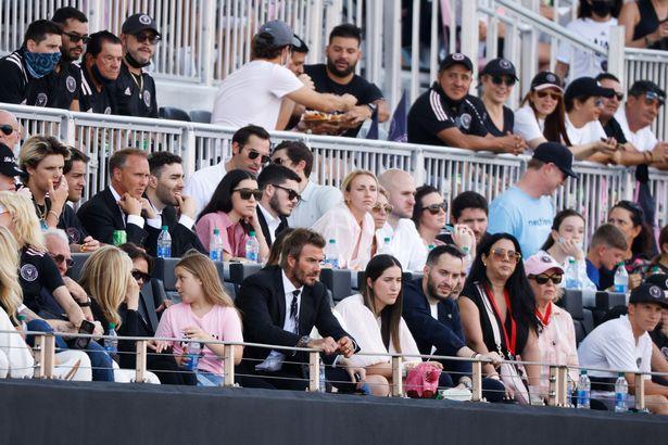 The Beckhams were accompanied by Nicola Peltz' billionaire family