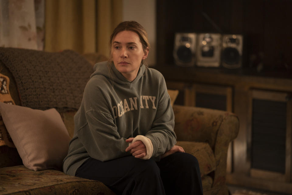 """Starring Academy Award , Emmy and Golden Globe -winner Kate Winslet (HBO's """"Mildred Pierce""""), from creator and writer Brad Ingelsby (""""The Way Back""""), with all episodes directed by Craig Zobel (HBO's """"The Leftovers"""") This limited series stars Winslet as Mare Sheehan, a small-town Pennsylvania detective who investigates a local murder as life crumbles around her. MARE OF EASTTOWN is an exploration into the dark side of a close community and an authentic examination of how family and past tragedies can define our present."""