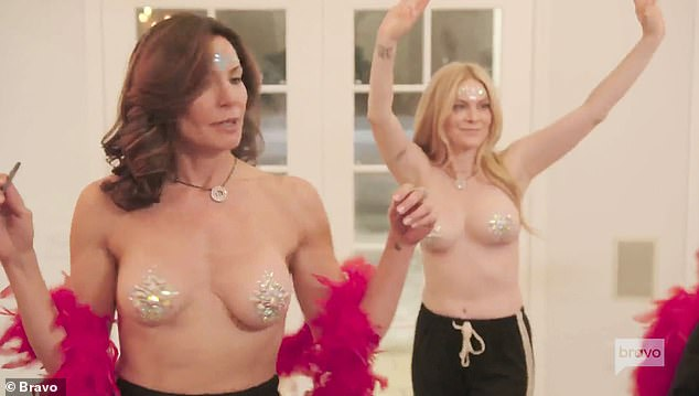 Let's party! The season 13 trailer for the Real Housewives Of New York City unveiled last month promises no shortage of drama and nudity