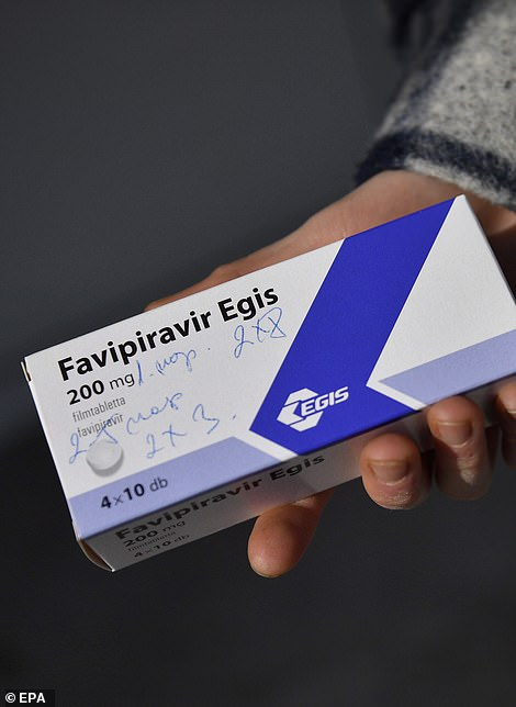 Favipiravir is an antiviral drug being trialled on Covid patients