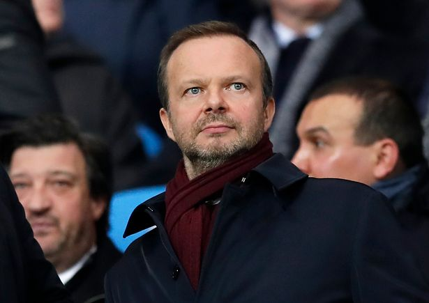 Manchester United chief executive Ed Woodward quit today