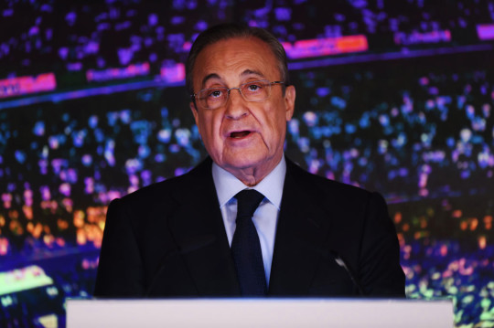 Florentino Perez Real Madrid Unveil New Manager Zinedine Zidane