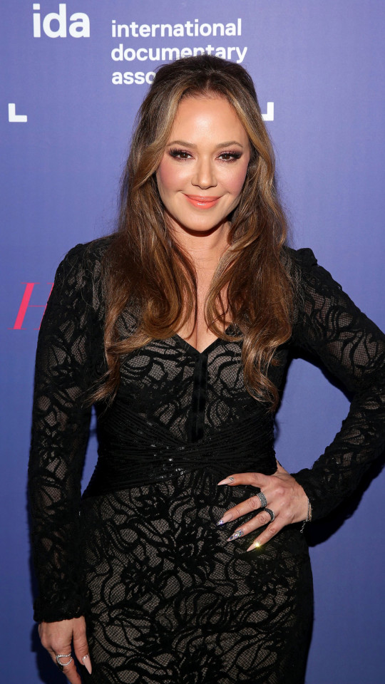 LOS ANGELES, CALIFORNIA - DECEMBER 07: (EDITORS NOTE: Retransmission with alternate crop.) Leah Remini attends the 2019 IDA Documentary Awards at Paramount Pictures on December 07, 2019 in Los Angeles, California. (Photo by Jesse Grant/Getty Images for International Documentary Association)