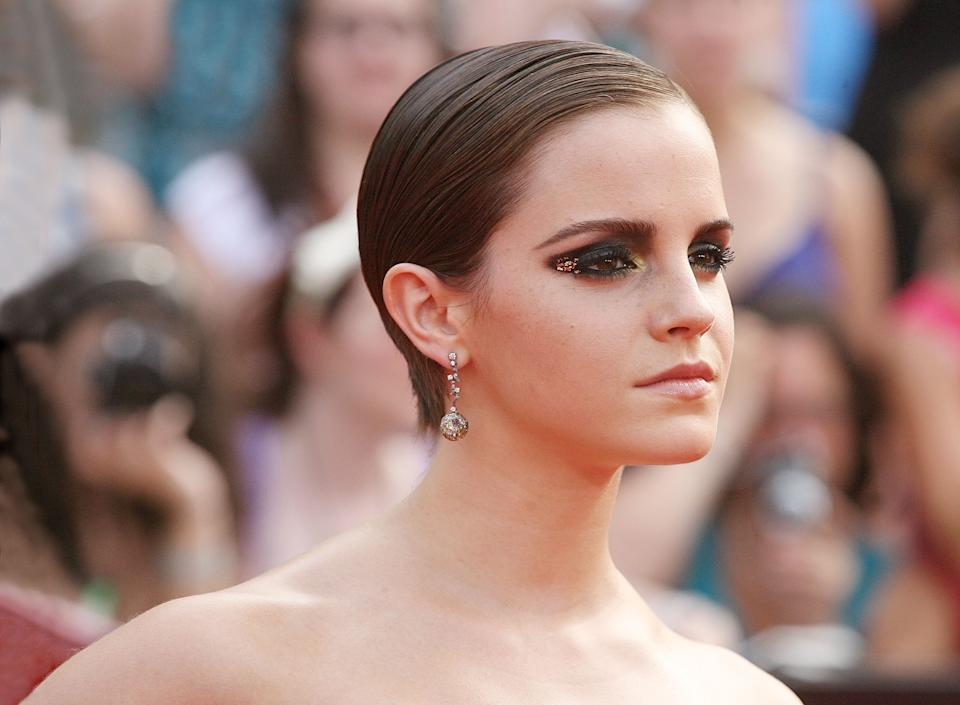 NEW YORK, NY - JULY 11:  Actress Emma Watson attends the premiere of