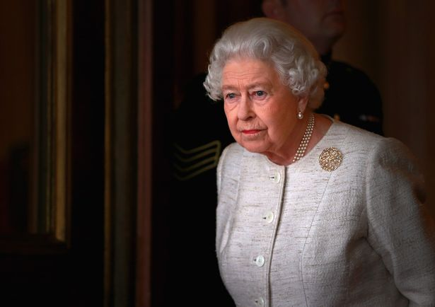 The Queen issued a rare personal message