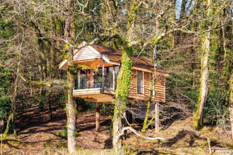 Yeworthy Eco treehouse