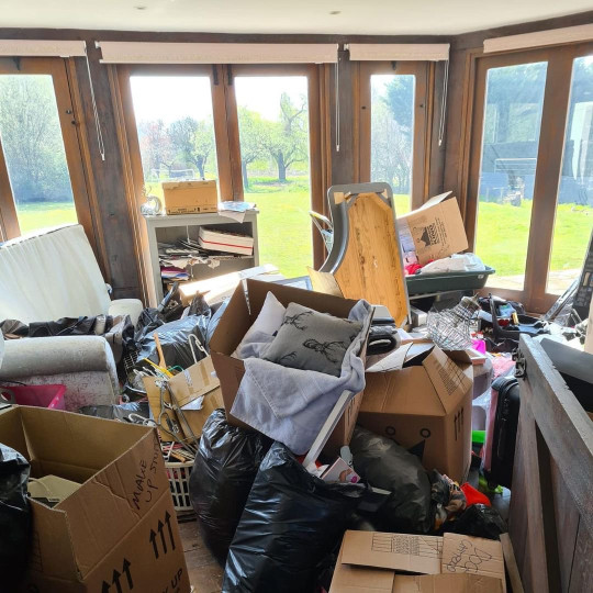 Katie Price details mucky mansion clearout