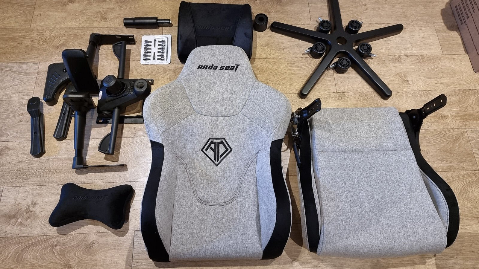 AndaSeat T Pro 2 disassembled