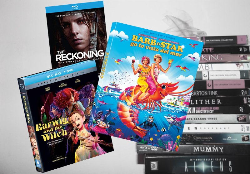 April 6 Blu-ray, Digital and DVD Releases