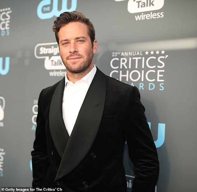 Out:Armie Hammer exits Broadway play The Minutes amid cannibalism and abuse allegations saying: 'I need to focus on my health for the sake of my family'
