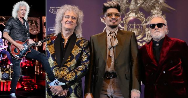 Brian May, Queen, Roger Taylor, Adam Lambert