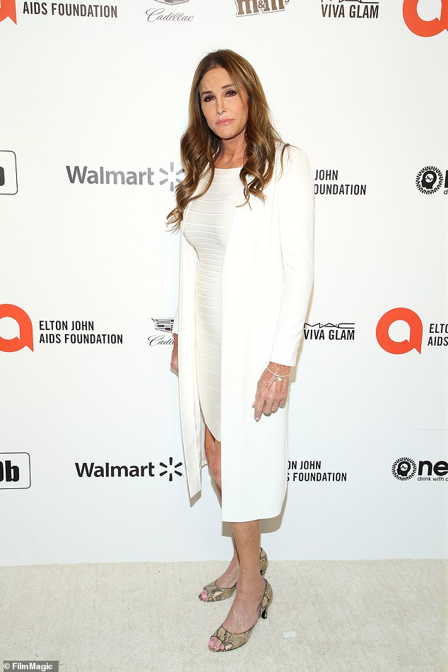 Political career? Caitlyn Jenner is 'actively exploring' a run for governor of the state of California, according to Axios; seen in February 2020
