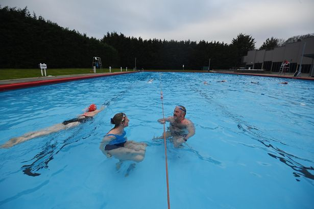 Outdoor swimming pools like Park Road Lido in London, pictured, have reopened since March 29