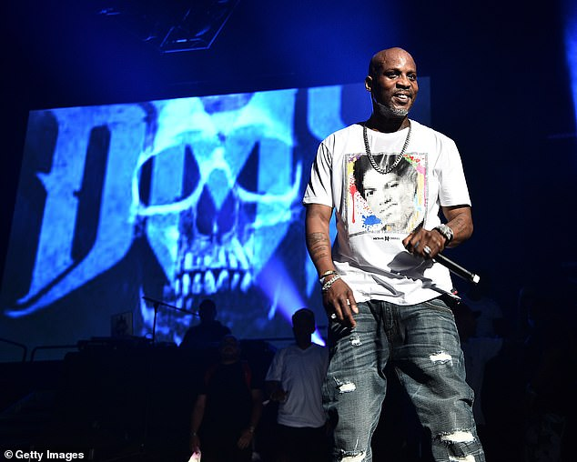 Tragic: The 50-year-old rapper-and-actor passed away last week after a stint in an intensive care unit following a heart attack at his home on April 2; seen in 2019