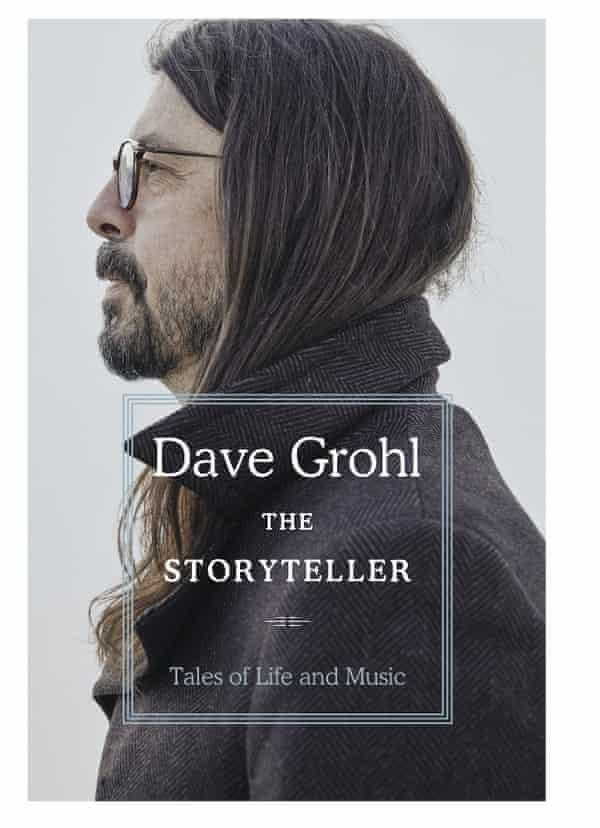 The cover of Dave Grohl's memoir The Storyteller.
