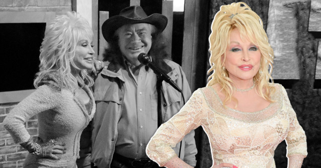 Dolly Parton and Bill Owens