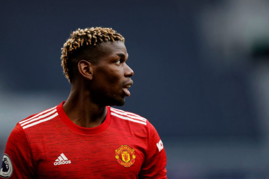 Pogba made the cut for his display in United's 2-1 win over Spurs last weekend