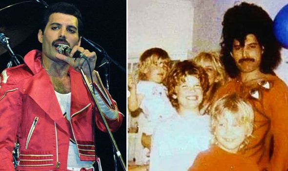 Freddie Mercury and the family of Queen producer Reinhold Mack