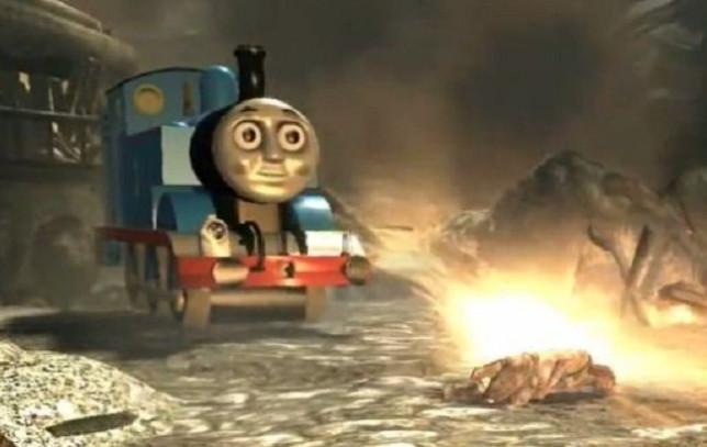 Thomas the Tank Engine in Skyrim