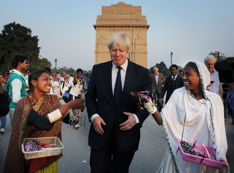 Boris Johnson has visited India as both London mayor and foreign secretary