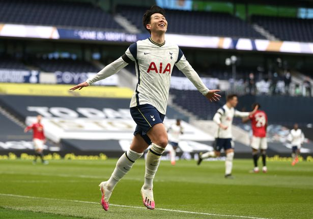 The South Korean gave Tottenham the lead