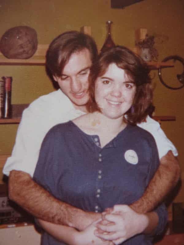 Angela Kitzelman and Don Jarmey at Angela's 19th birthday, 1985