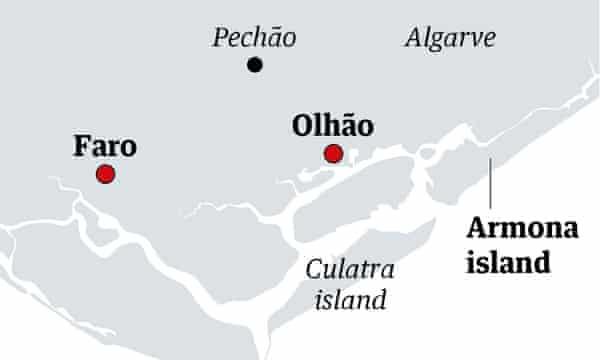 Armona map