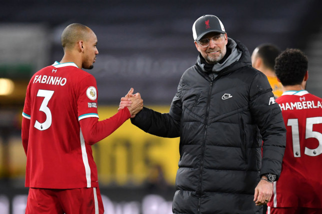 Fabinho has played in multiple positions for Klopp's side