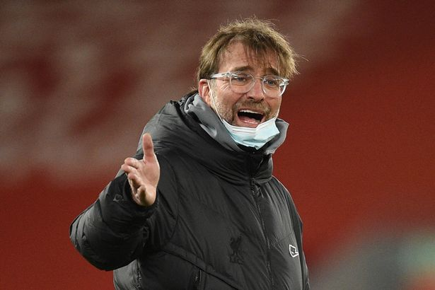 Jurgen Klopp has a tendency to show his anger publicly