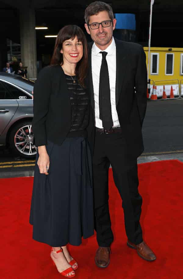 Theroux with his wife, Nancy Strang.