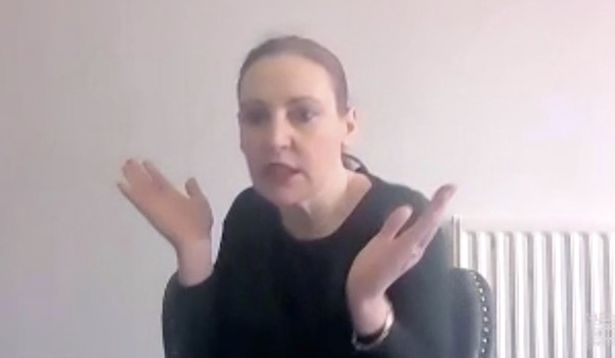 The Shadow Minister for Disabled People asking her question silently in British Sign Language