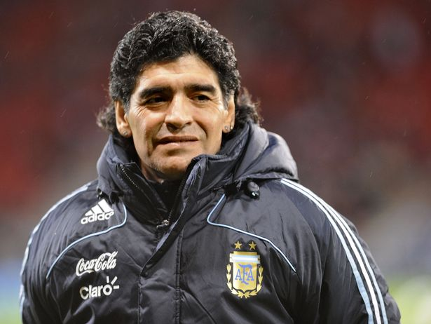 The legendary Diego Maradona died in November last year
