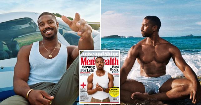 Michael B Jordan on Men's Health cover