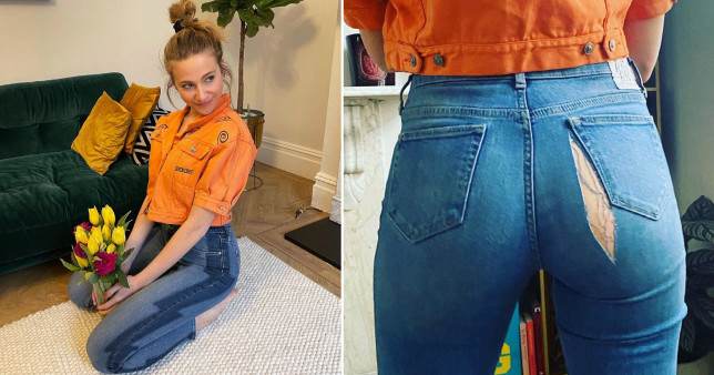 Pixie Lott splits jeans on her bum: 'It's clear to see lockdown has treated me well'