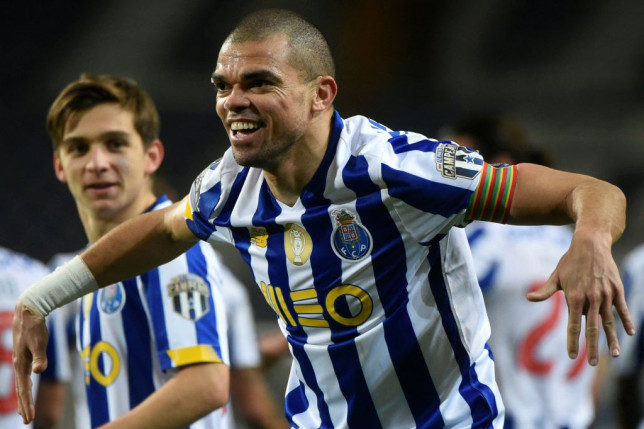 Pepe has talked up Porto's chances of knocking out Chelsea and winning the Champions League