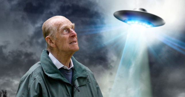 Prince Philip had fascination with UFOs and collected books about aliens