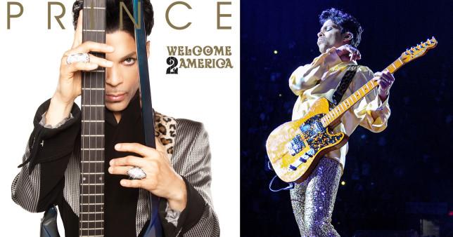 Prince unheard album Welcome 2 America