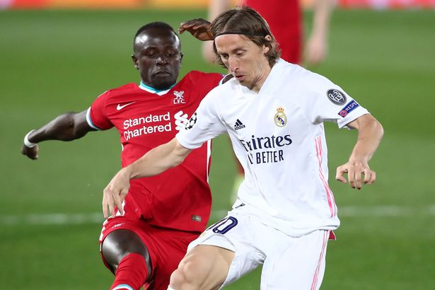 Modric starred in Real's 3-1 win over Liverpool in the first leg