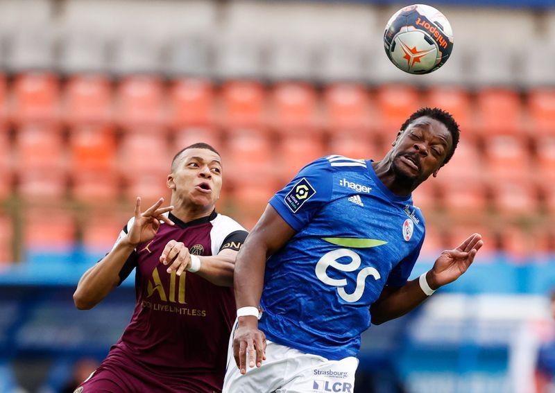 Mbappe at it again as PSG thrash Strasbourg 4-1