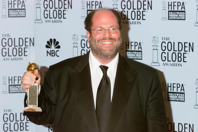 Scott Rudin at the Golden Globe Awards