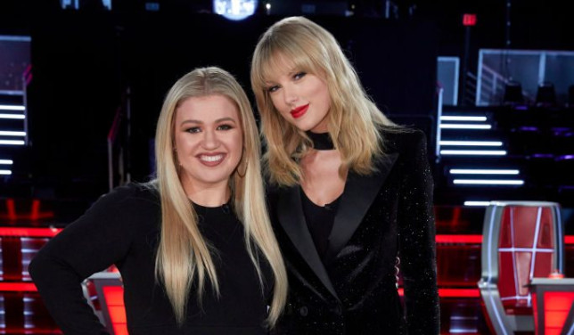 Kelly Clarkson and Taylor Swift