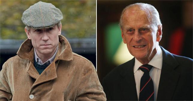 Tobias Menzies, The Crown, Prince Philip, Duke of Edinburgh
