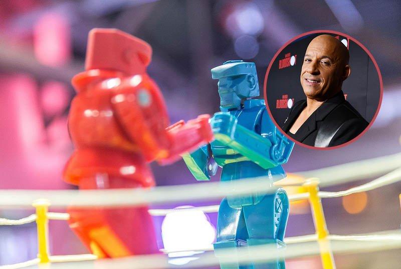 Vin Diesel & Universal Team for Live-Action Rock 'Em Sock 'Em Robots Film
