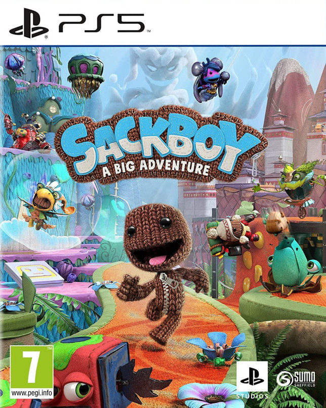 Sackboy: A Big Adventure box