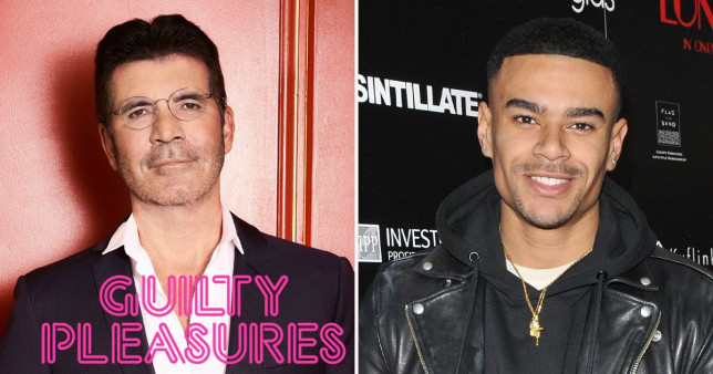 Simon Cowell and Wes Nelson